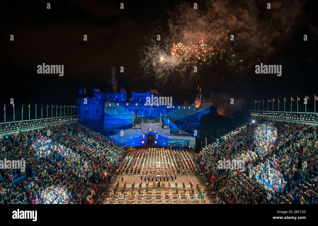 Royal edinburgh military tattoo 2017 stock photos royal for Royal edinburgh military tattoo