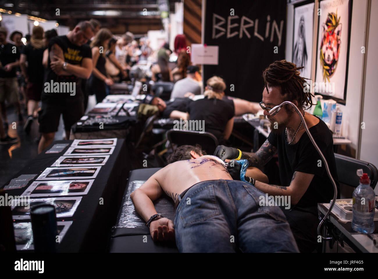 International tattoo convention stock photos for Tattoo convention 2017 denver
