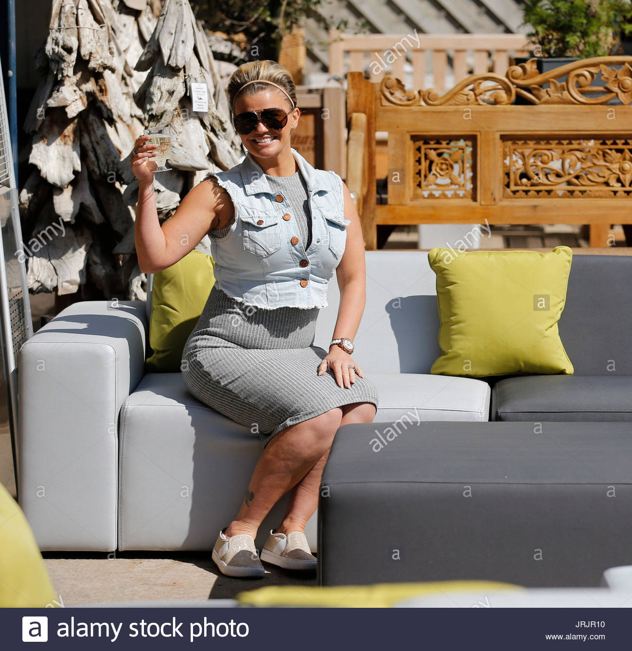 kerry katona kerry katona visits garden furniture centre at yew tree farm craft centre in wootton wawen - Garden Furniture Kerry