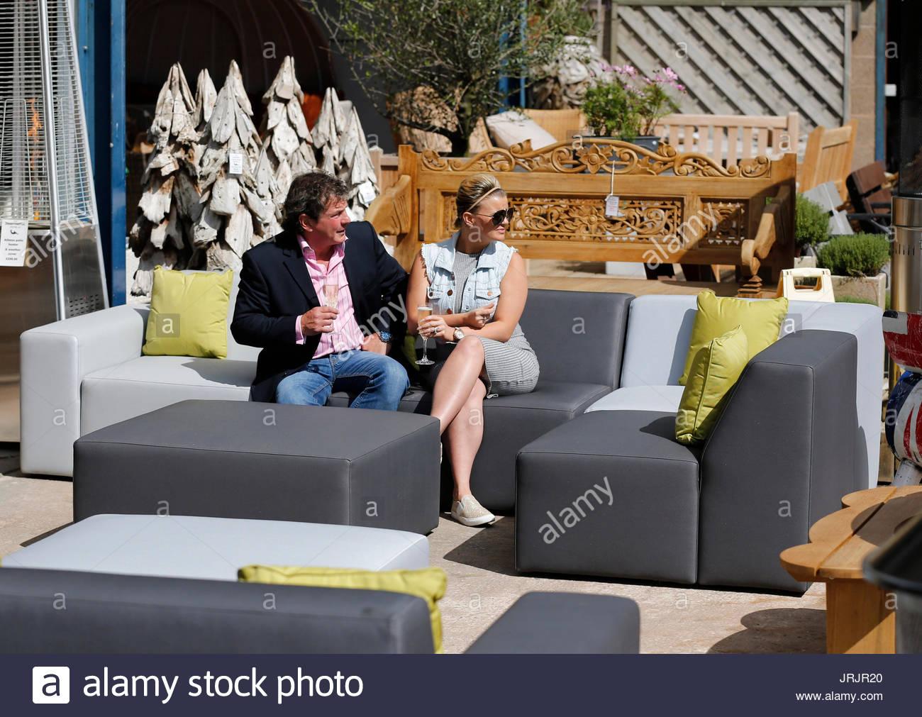 Ordinaire Kerry Katona. Kerry Katona Visits Garden Furniture Centre At Yew Tree Farm  Craft Centre In Wootton Wawen