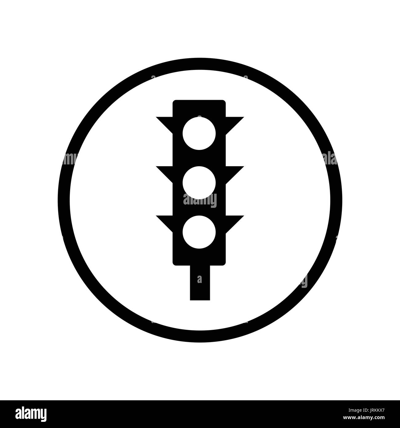 Regulation black and white stock photos images alamy traffic light icon iconic symbol inside a circle on white background vector iconic biocorpaavc Image collections