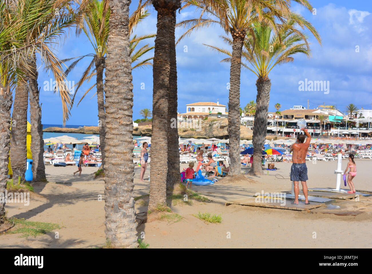 Arenal Beach Inea On The Costa Blanca Spain