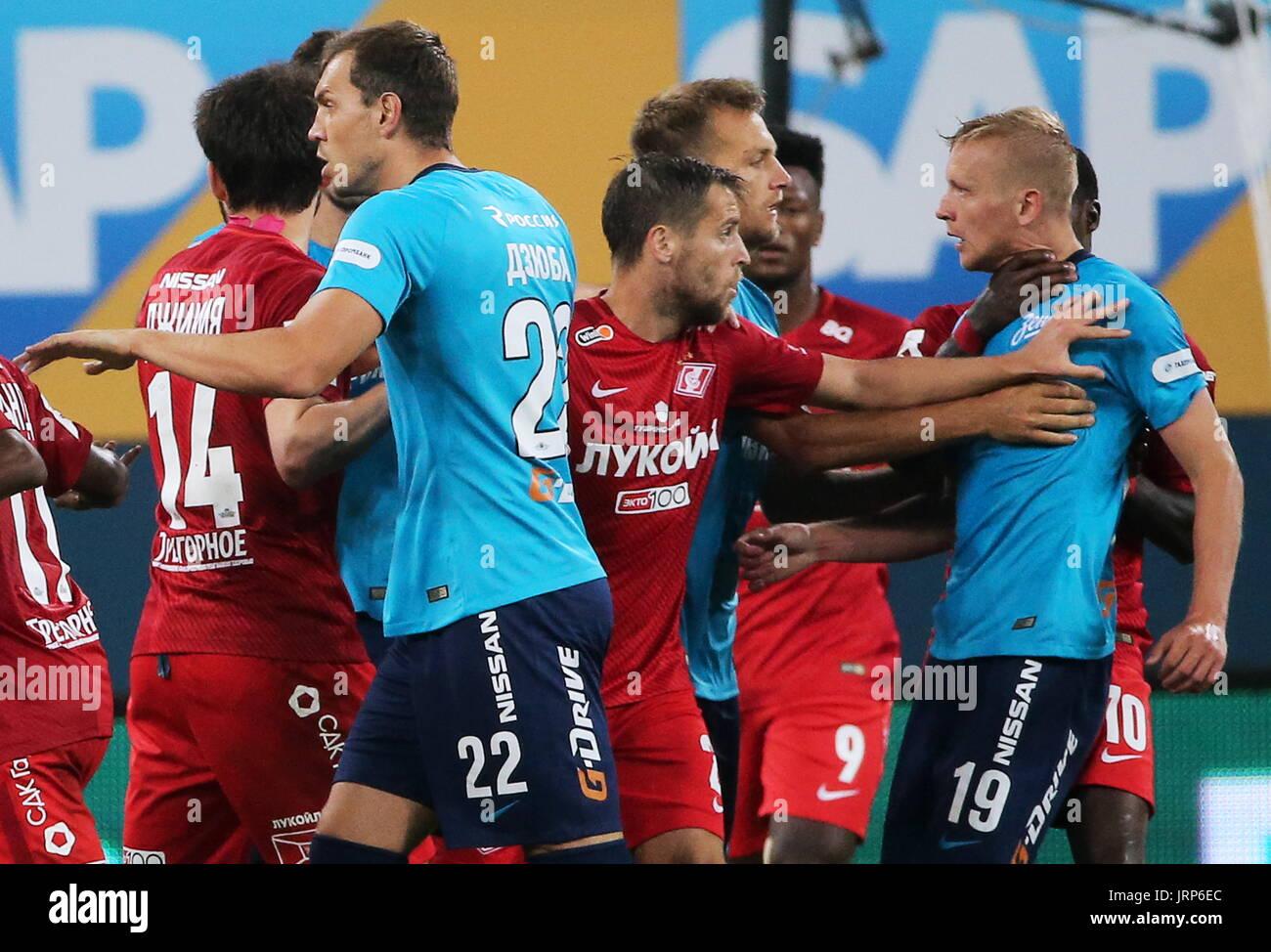 Matches Spartak - Zenit in the season 2018 - 2019 58