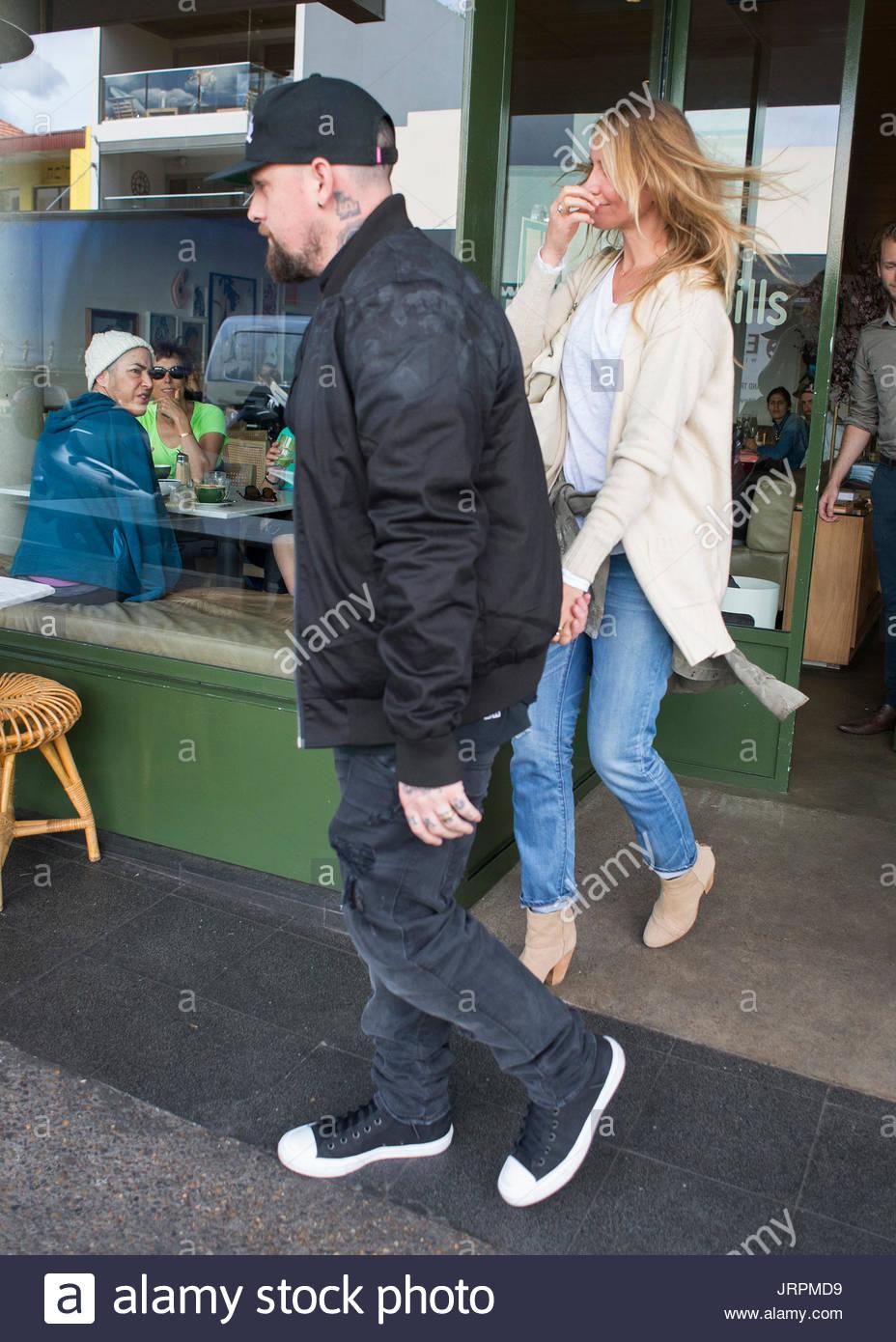 Benji Madden And Cameron Diaz Benji Madden And New Wife Cameron - Cameron diaz make