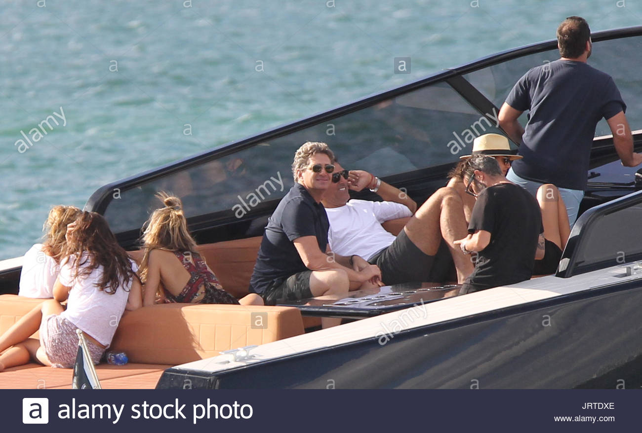 jeffrey soffer Miami s royalty spend Sunday afternoon boating