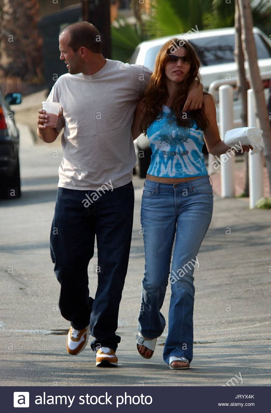 Jason Statham And Kelly Brook Stock Photos & Jason Statham ...