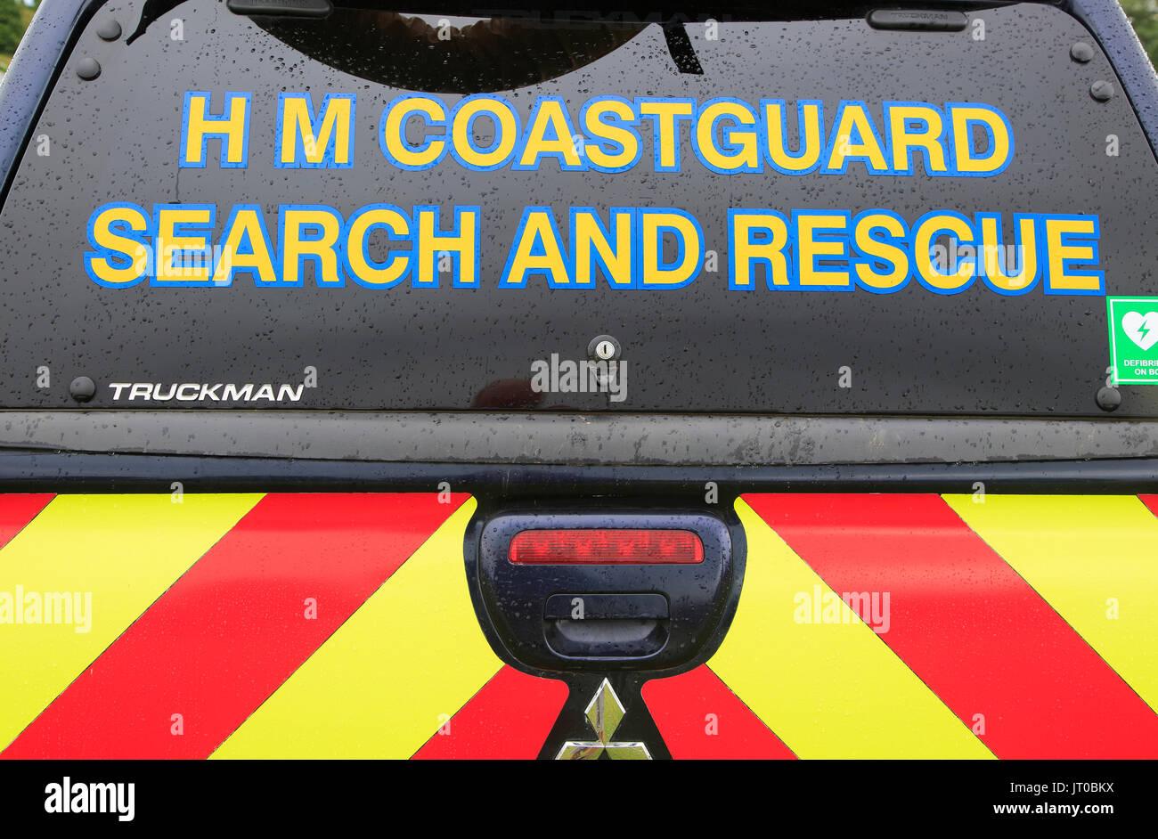 Hm Coastguard Search Rescue Vehicle Stock Photos & Hm Coastguard ...