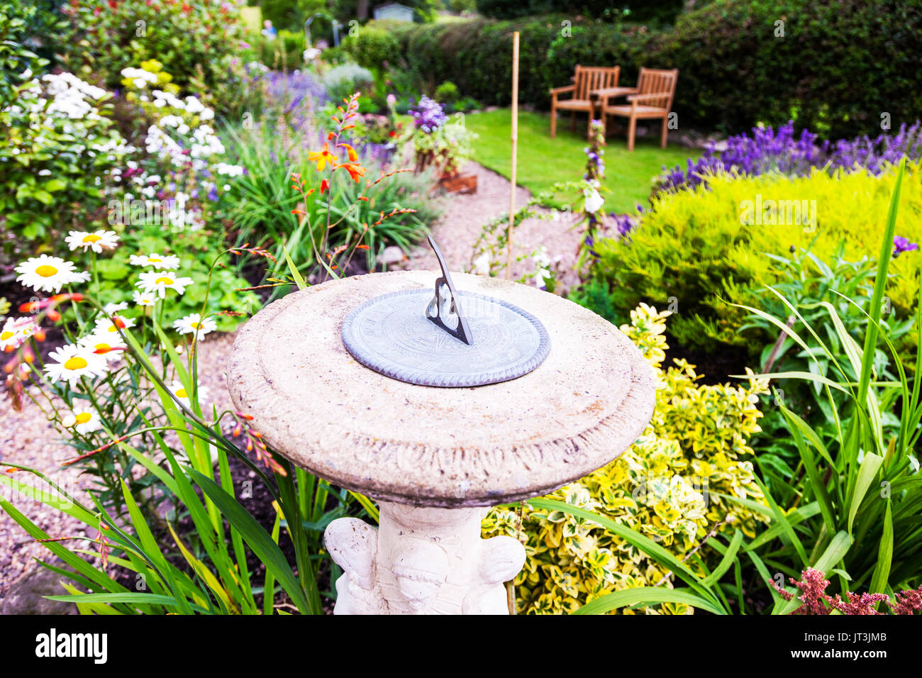 Great Sundial, Sun Dial, Sundial Clock, Sundial Clock In Garden, Sundial Time, Sundial  Garden, Sundial Garden Clock, Sundials, UK, England, UK Sundials