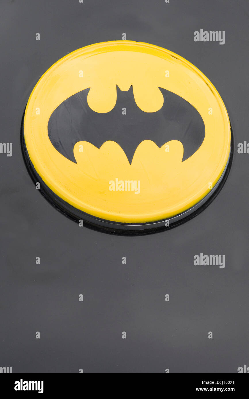 Batman symbol on a vehicle stock photo royalty free image batman symbol on a vehicle buycottarizona