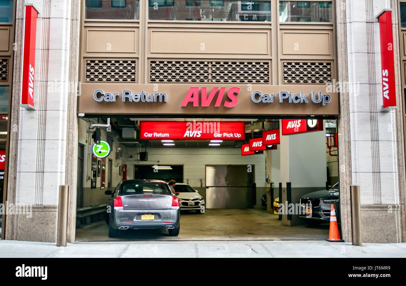 Returning An Avis Rental Car