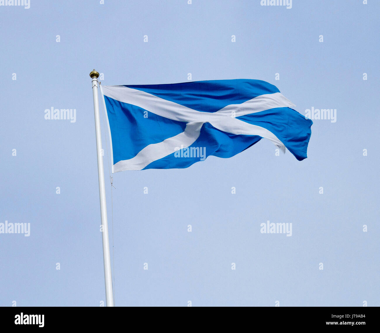 scotland flag and pole stock photos u0026 scotland flag and pole stock