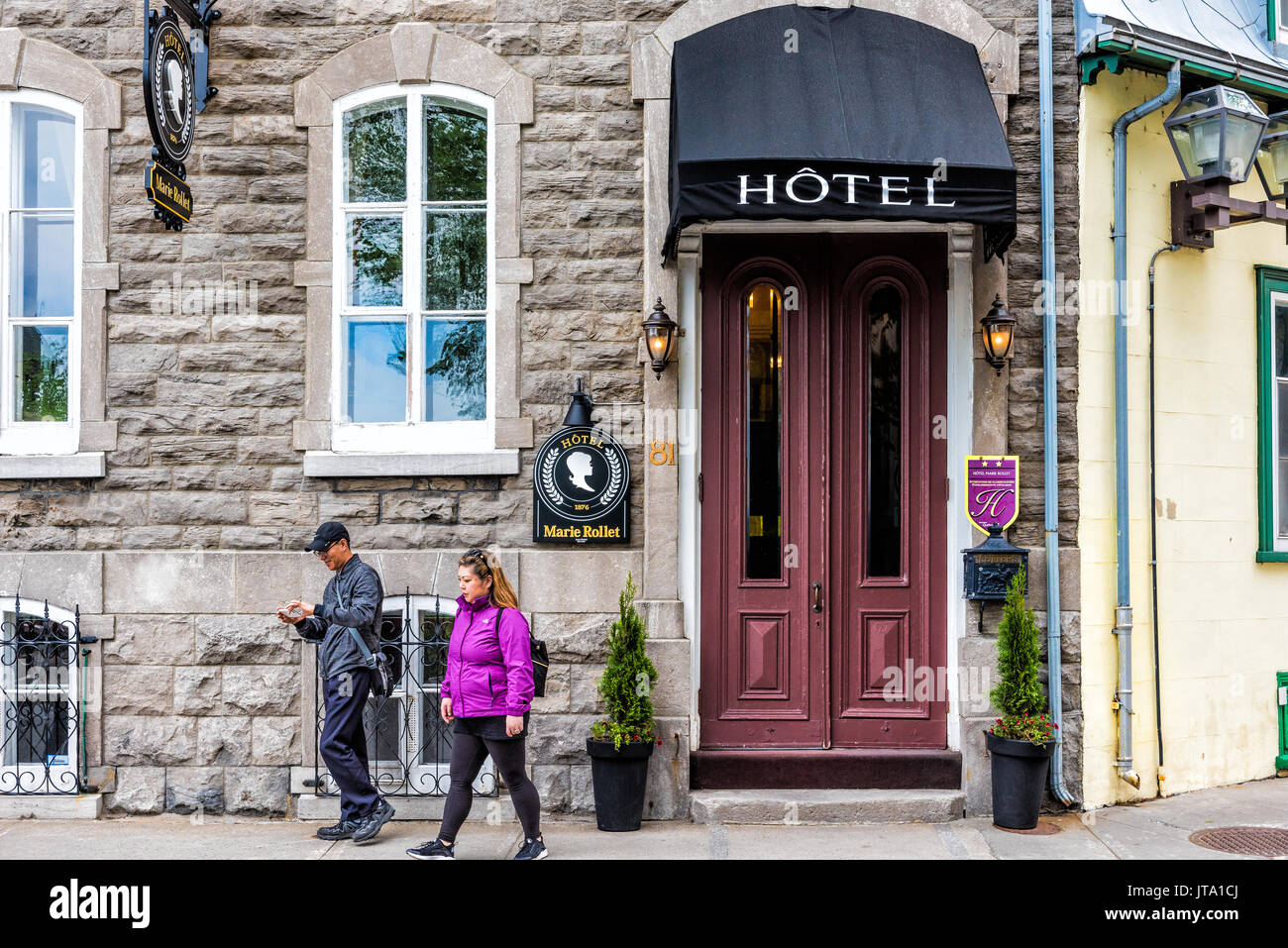 Hotel Marie Rollet Quebec City