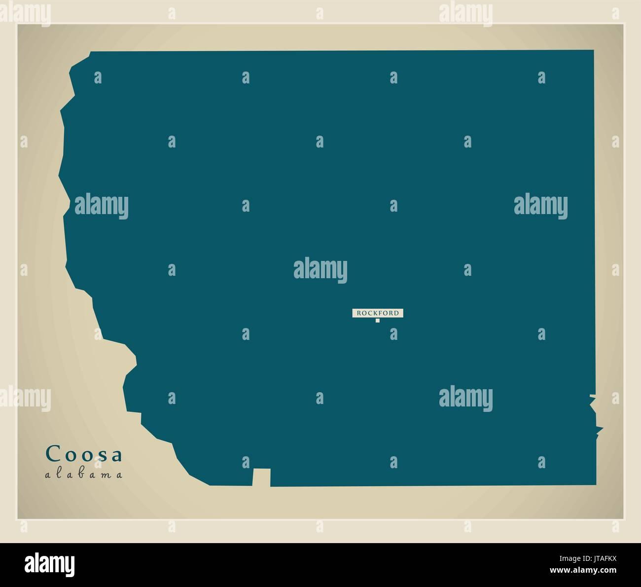 Coosa Map