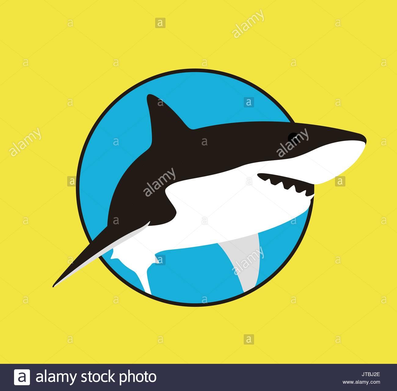 shark fin stock vector images alamy