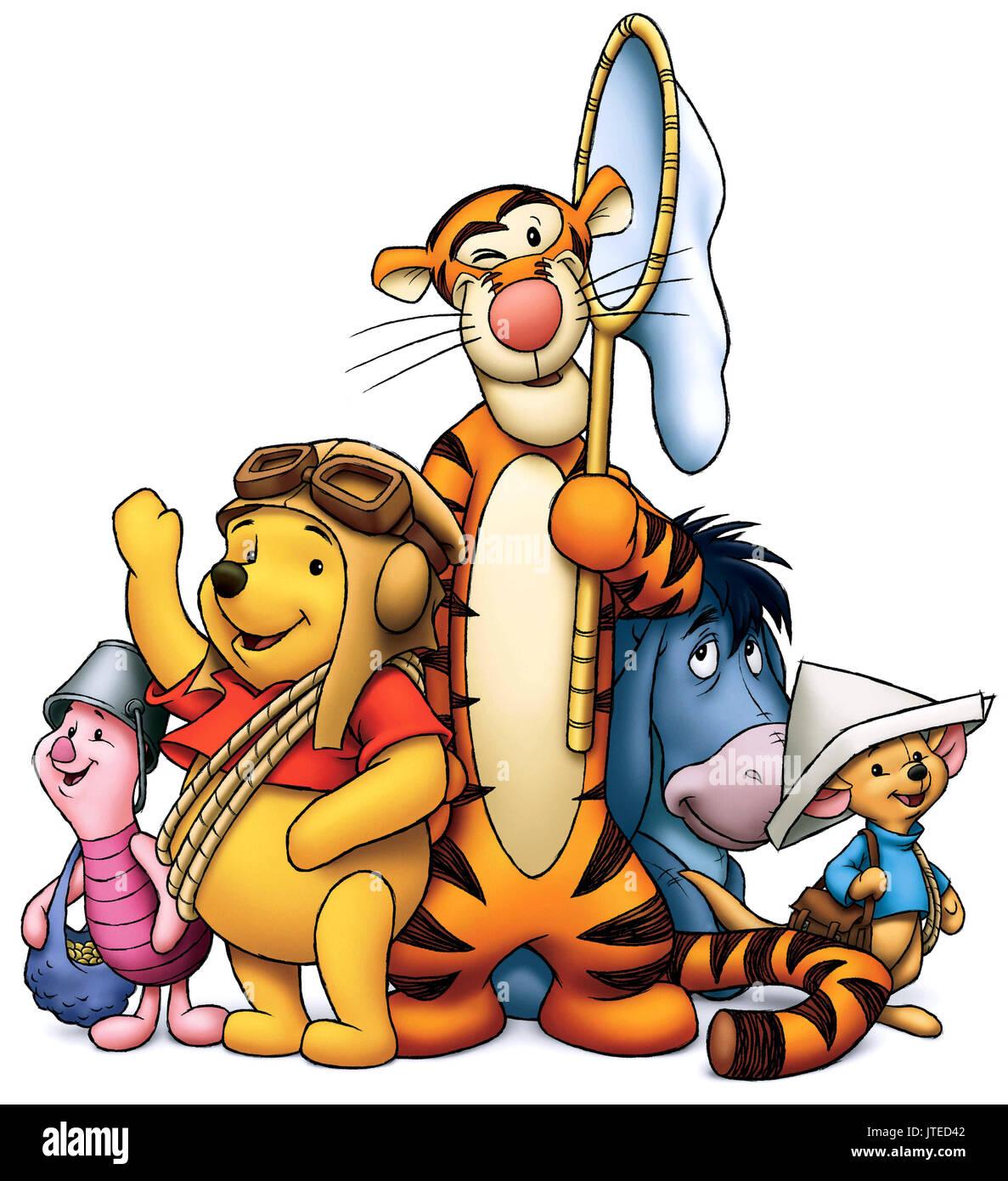 piglet winnie the pooh tigger eeyore roo pooh s heffalump movie
