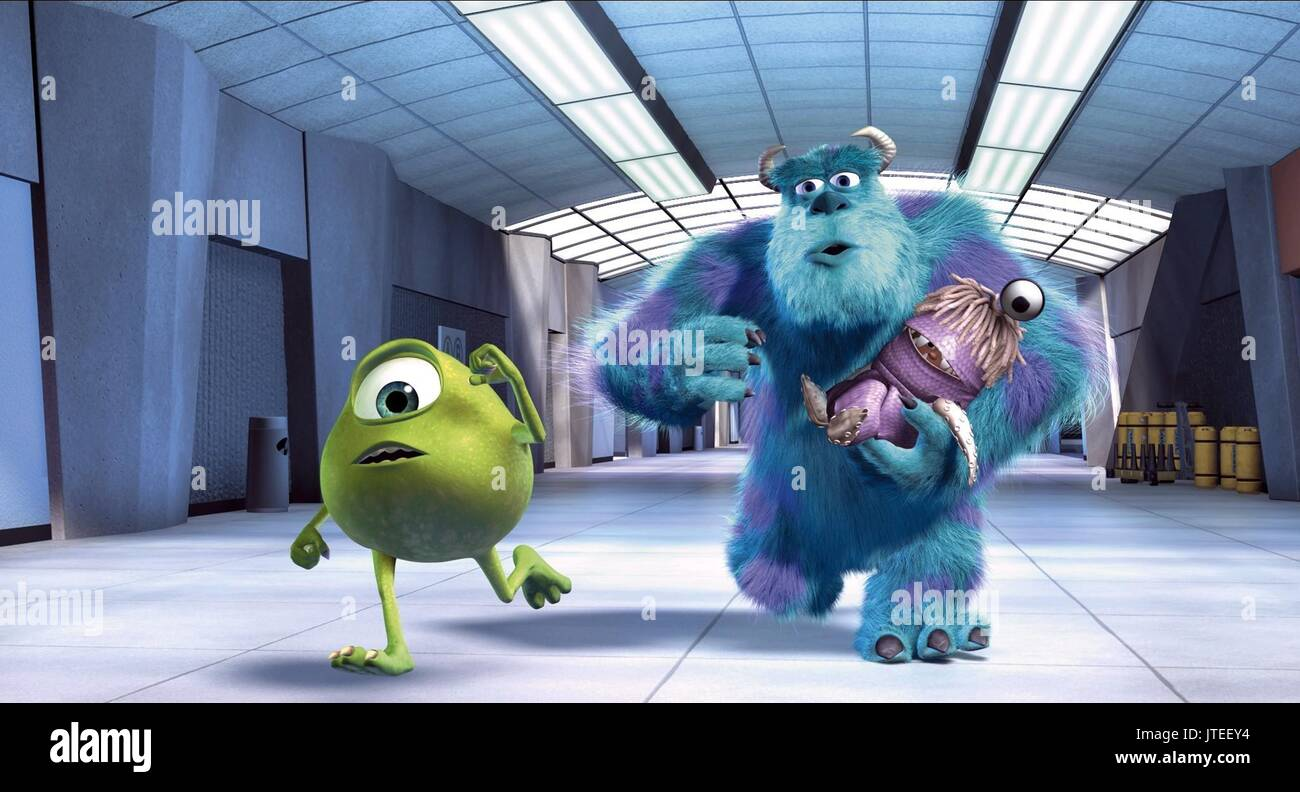 Uncategorized Sulley Mike And Boo mike sulley monsters inc 2001 stock photo 2001