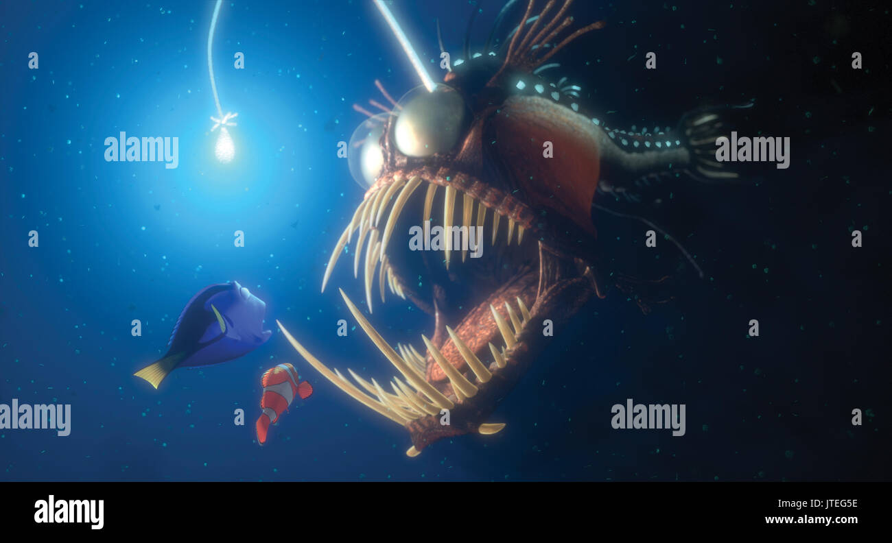 Finding nemo and finding dory stock photos finding nemo for Finding nemo angler fish