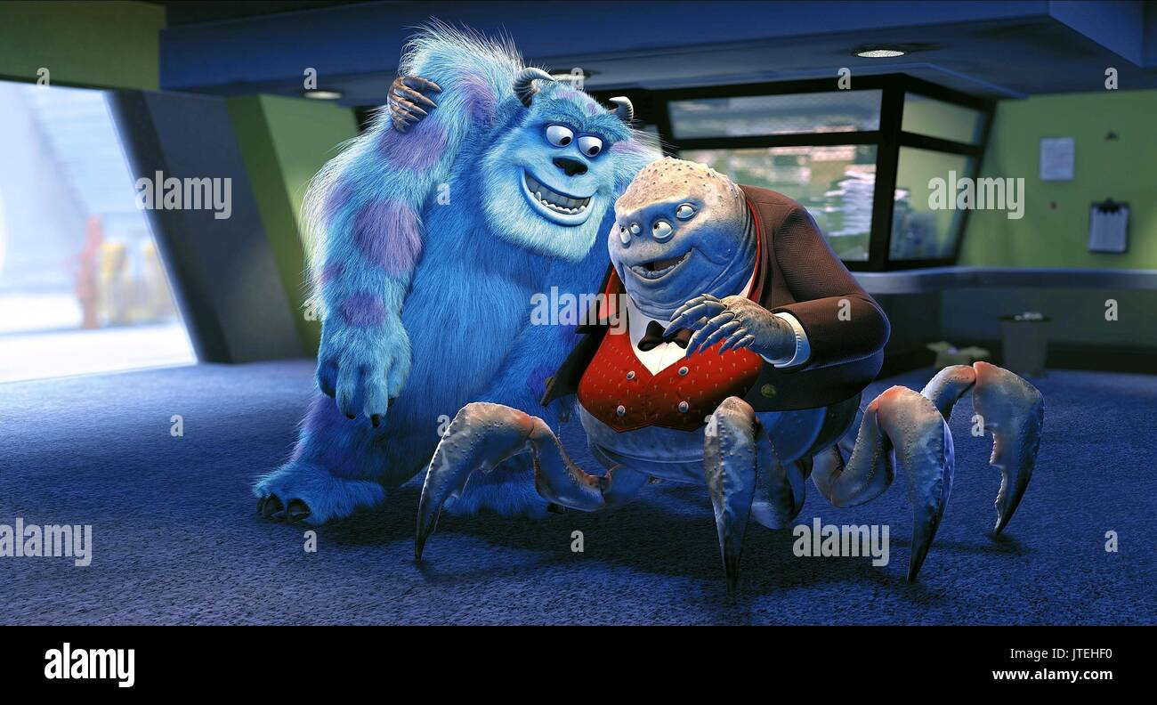 sulley monsters inc 2001