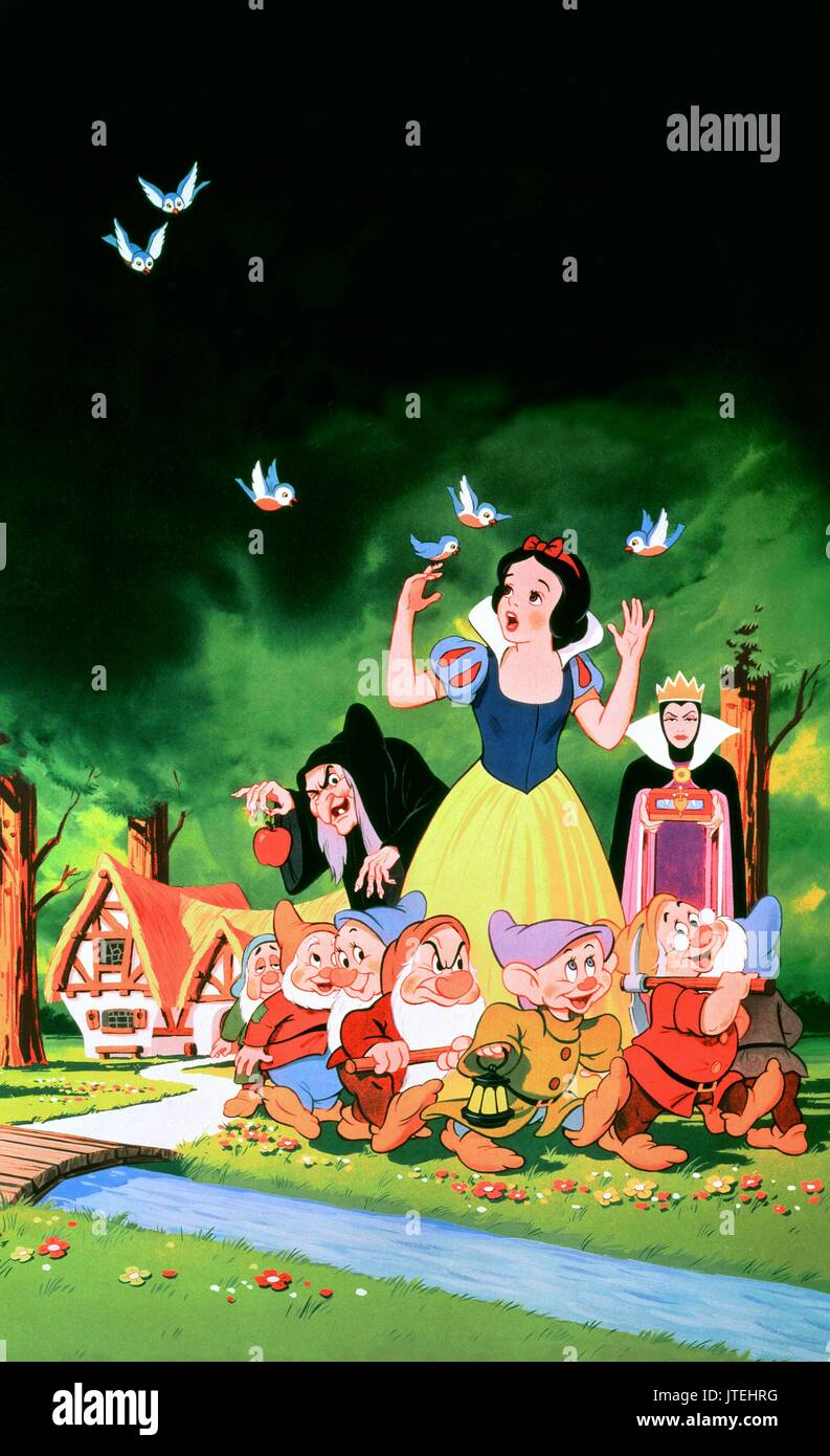 The Seven Most Popular Types Of Businesses: Snow White Seven Dwarfs Stock Photos & Snow White Seven