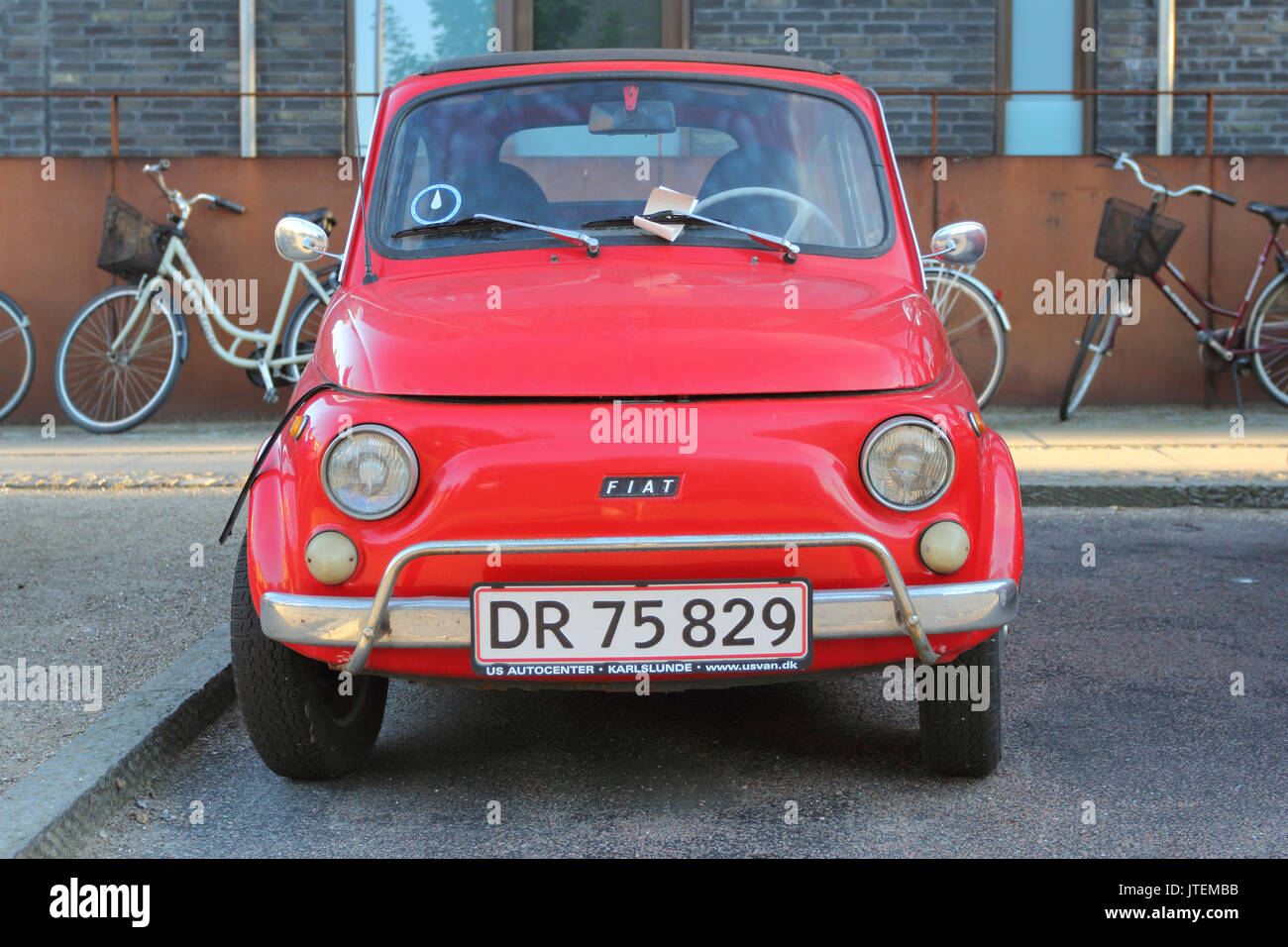 old red fiat stock photos old red fiat stock images alamy. Black Bedroom Furniture Sets. Home Design Ideas