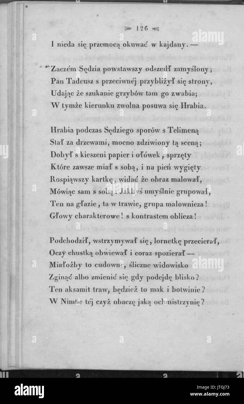 PL Adam Mickiewicz Pan Tadeusz 121