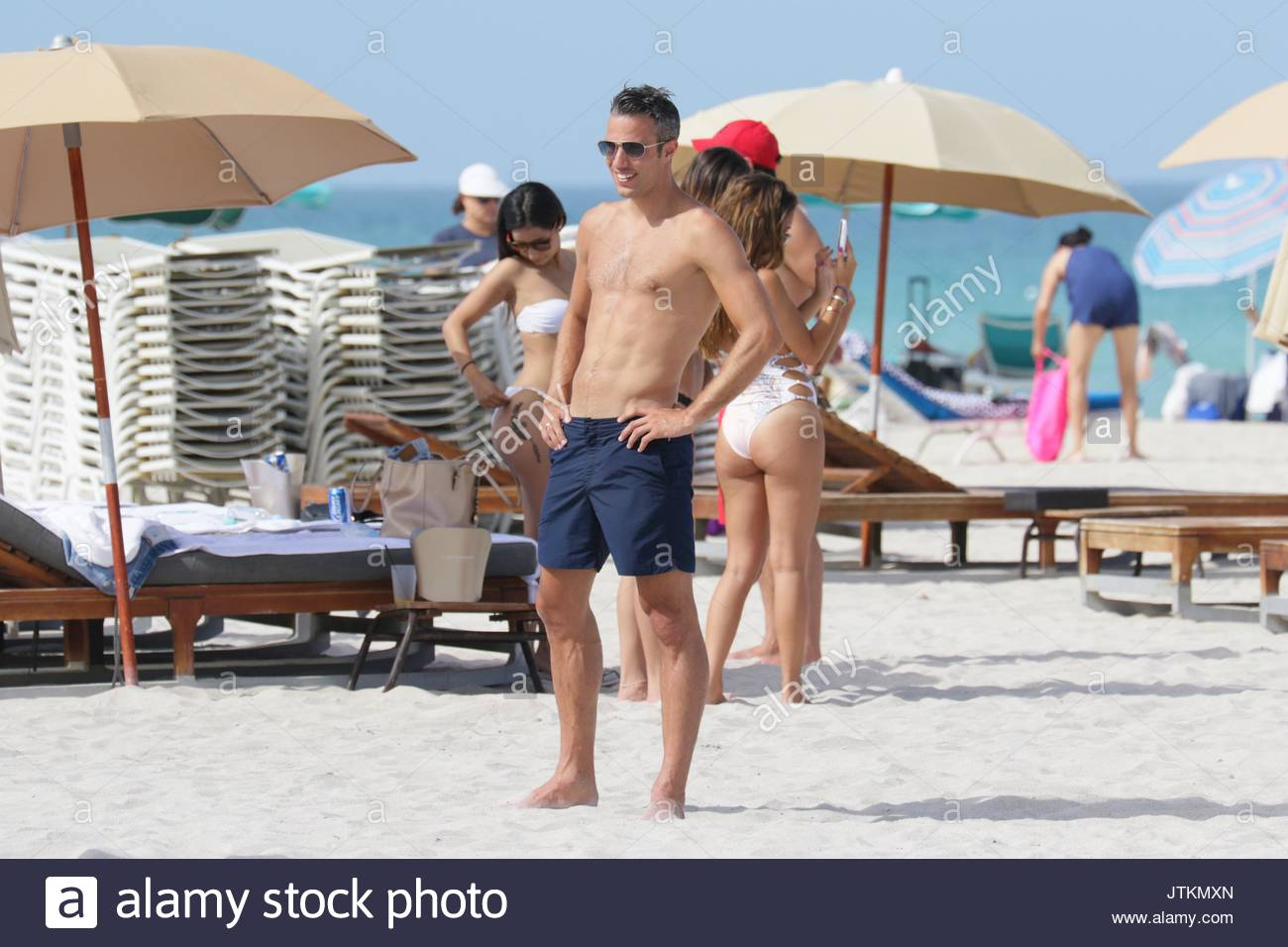 Robin van persie manchester united striker robin van persie enjoys robin van persie manchester united striker robin van persie enjoys a day at the beach with his family and friends in miami beach fl voltagebd Choice Image
