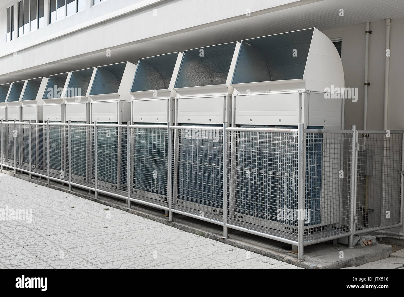 industrial air conditioning . ventilation systems.large air stock