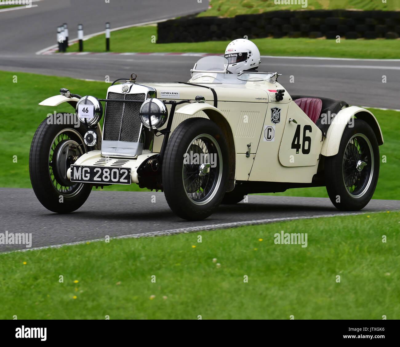 Charles Jones, MG L Magna, MMM MG Register with Austin Invitation ...