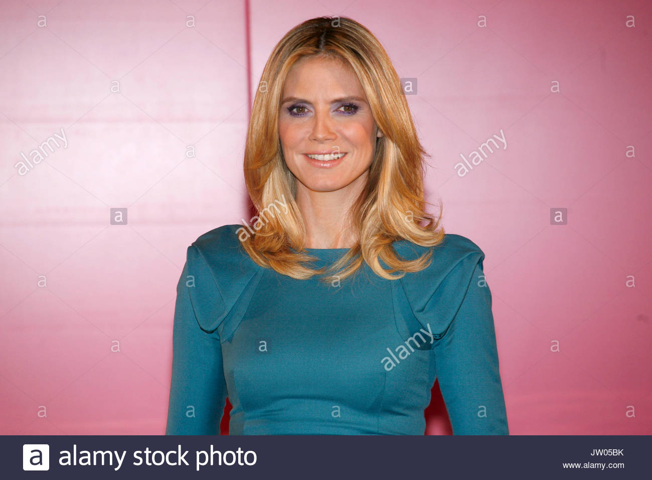 Stock photo hamburg germany riverside new - Press Conference Of Beauty Label Astor Presentation Of The New Advertising Campaign With Heidi Klum As New Face Hotel Empire Riverside In Hamburg