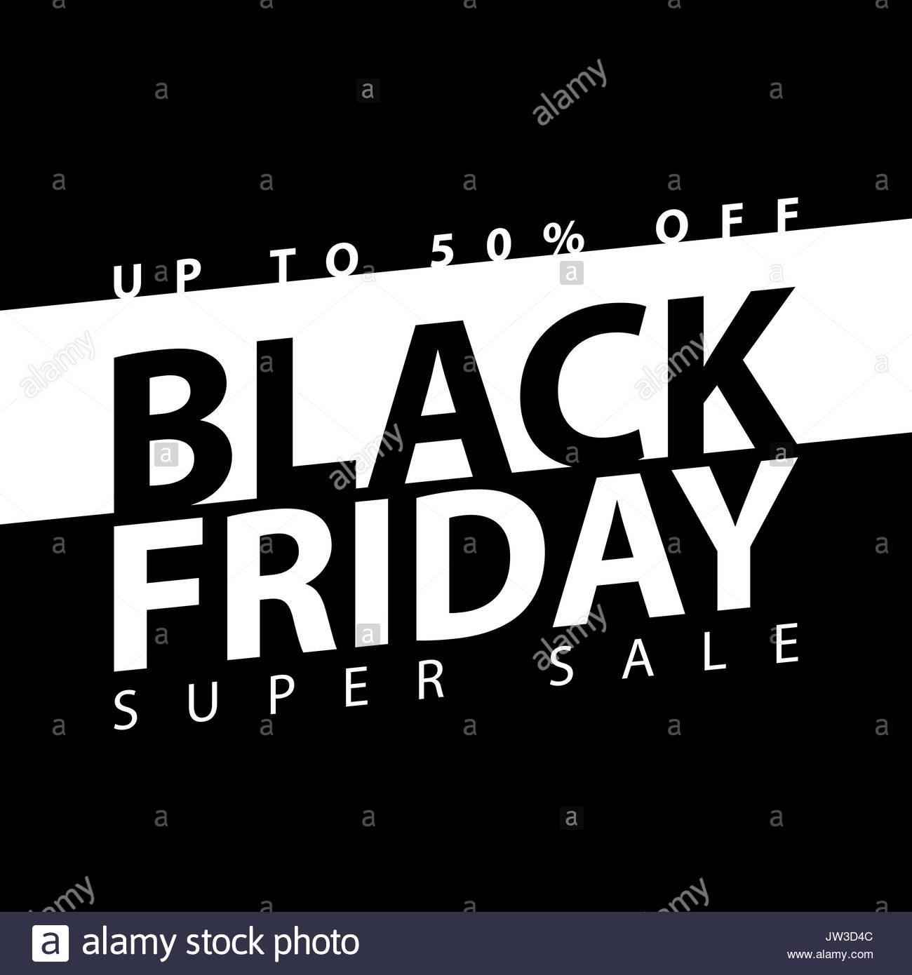 black friday super sale poster clearance mega discount flyer stock vector art illustration. Black Bedroom Furniture Sets. Home Design Ideas