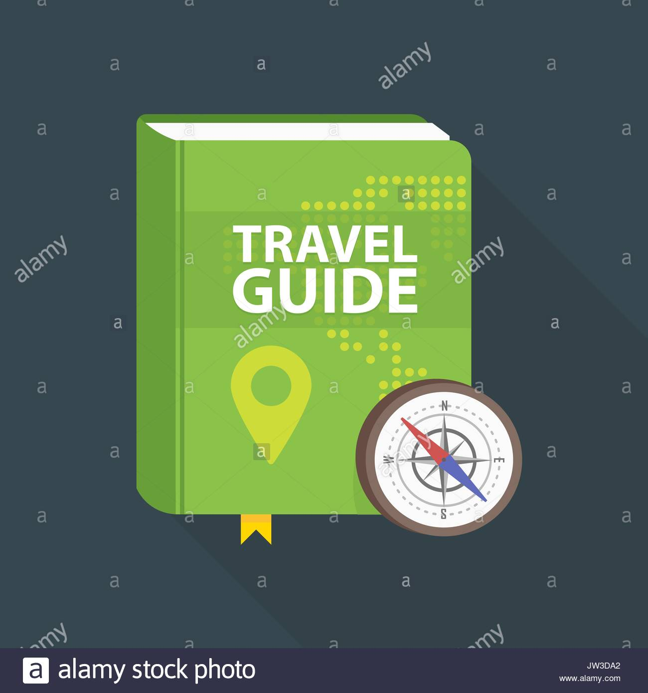 Travel guide book icon world map and pin in cover flat vector travel guide book icon world map and pin in cover flat vector illustration gumiabroncs Choice Image