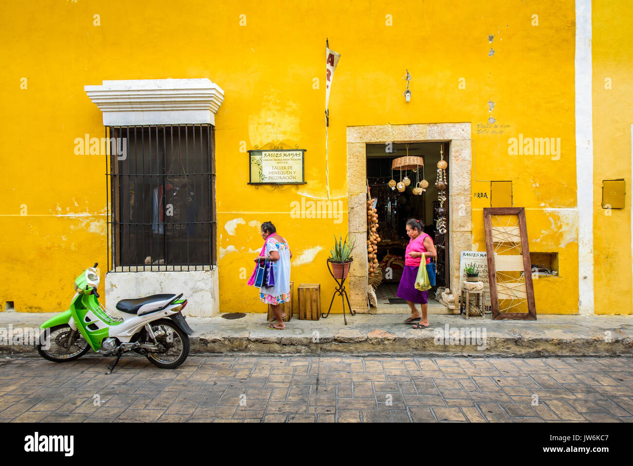 Woman in Izamal