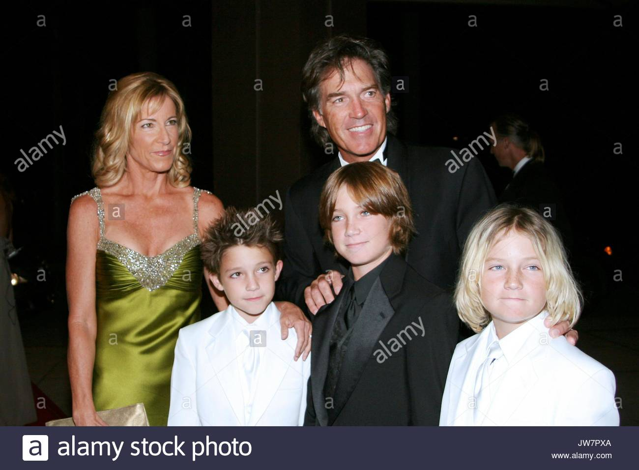 Andy Mill Chris Evert and sons Greg and Laura Norman Chris