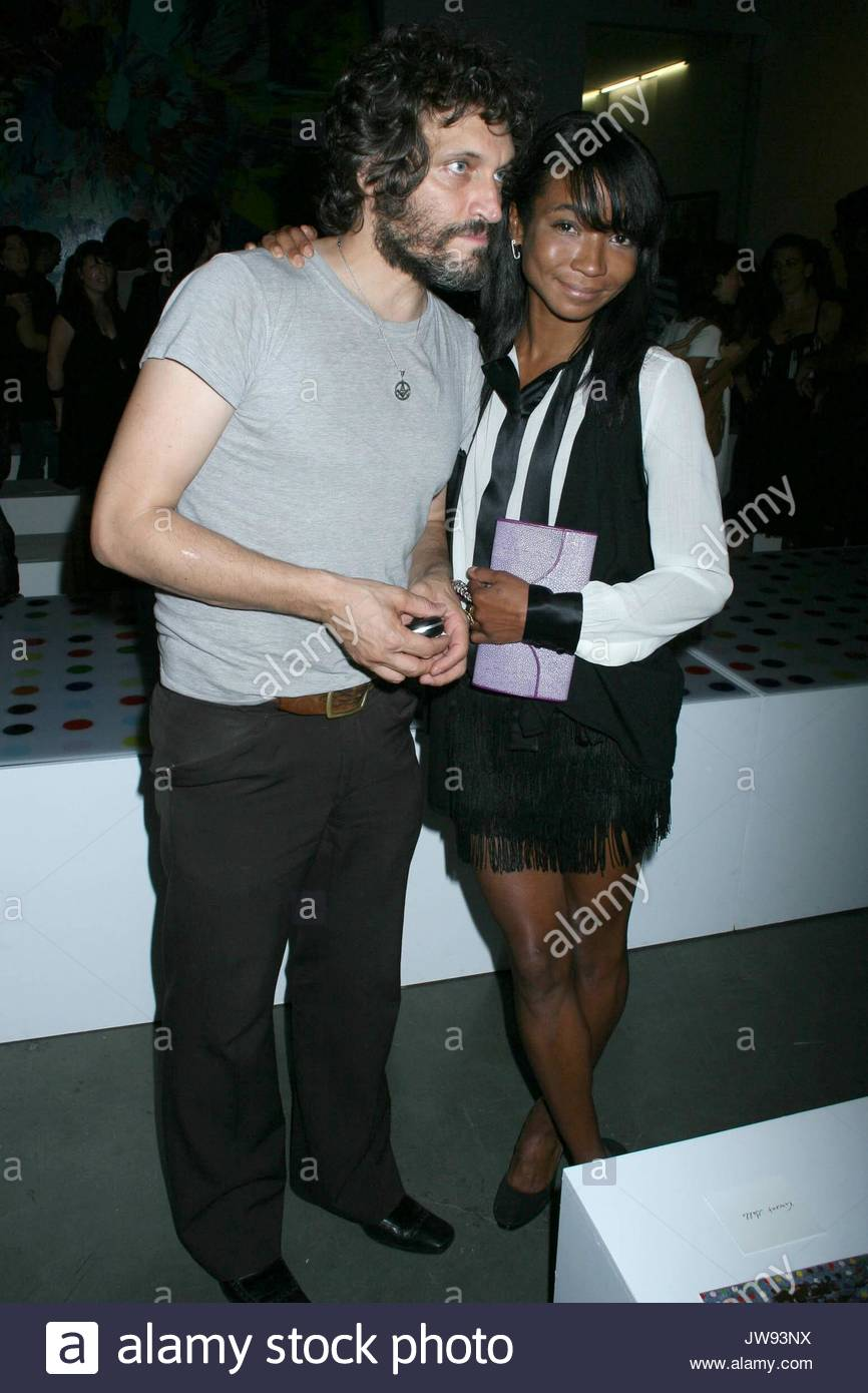 Vincent Gallo and Genevieve Jones at the Warhol Factory X ...
