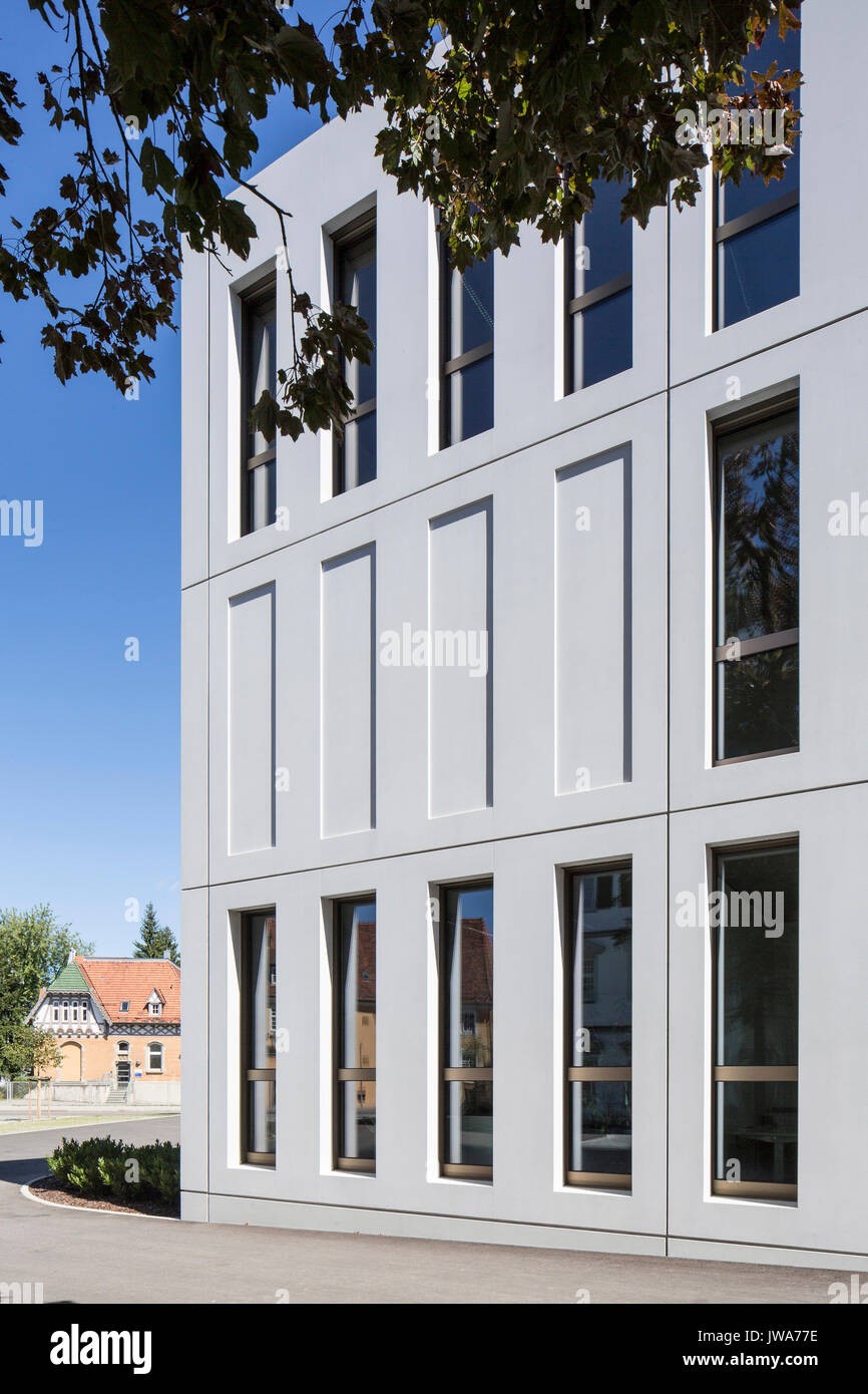 Architekten Biberach facade detail from south finanzamt finance office biberach