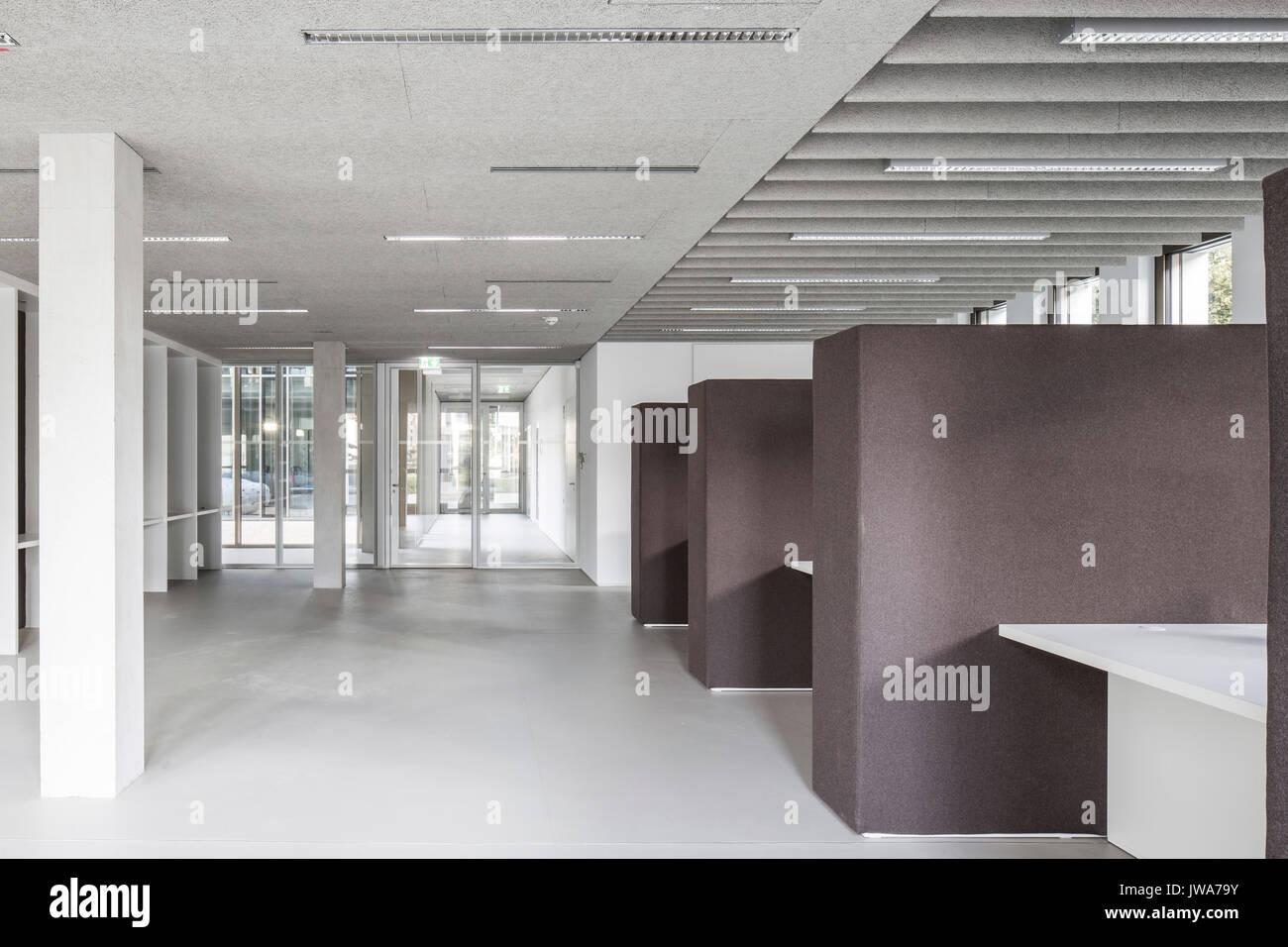 Architekten Biberach view through reception and information finanzamt finance