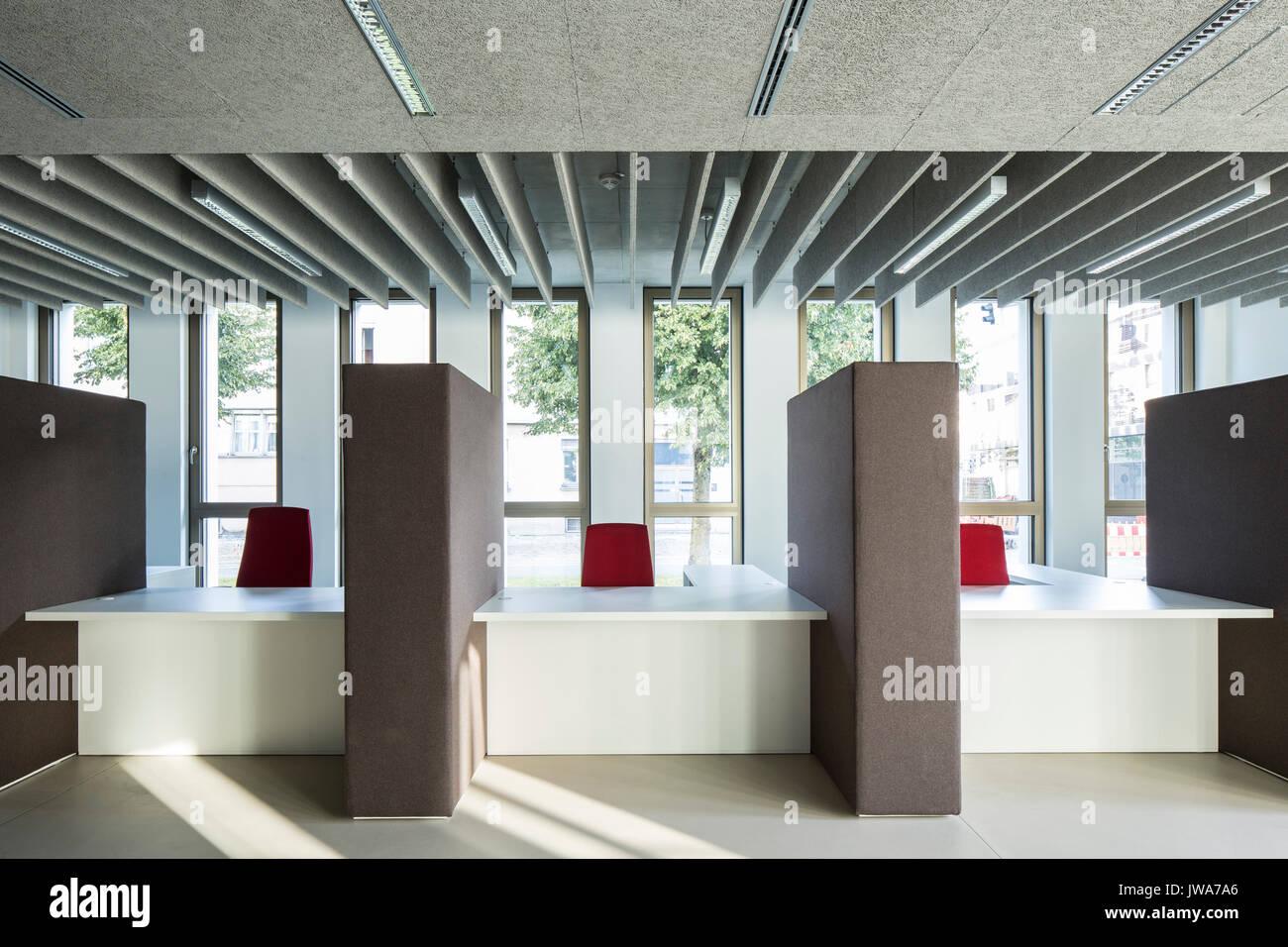 Architekten Biberach reception and information finanzamt finance office biberach stock