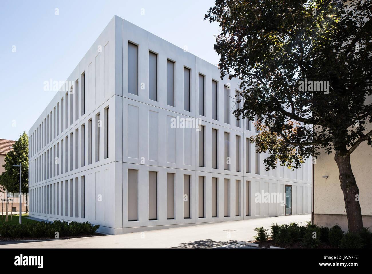 Architekten Biberach corner elevation finanzamt finance office biberach biberach