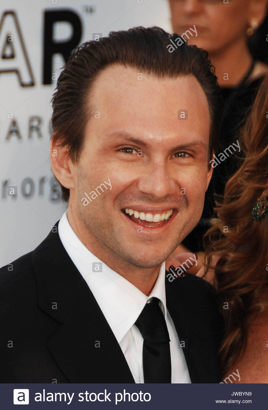 Christian Slater At Red Carpet Arrivals At The Annual Amfar Party In