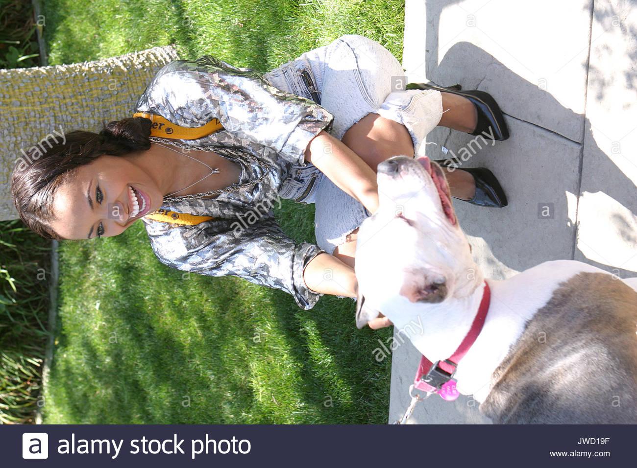 Katarina Graham At The Reality Cares The Dogs Next Door Benefit