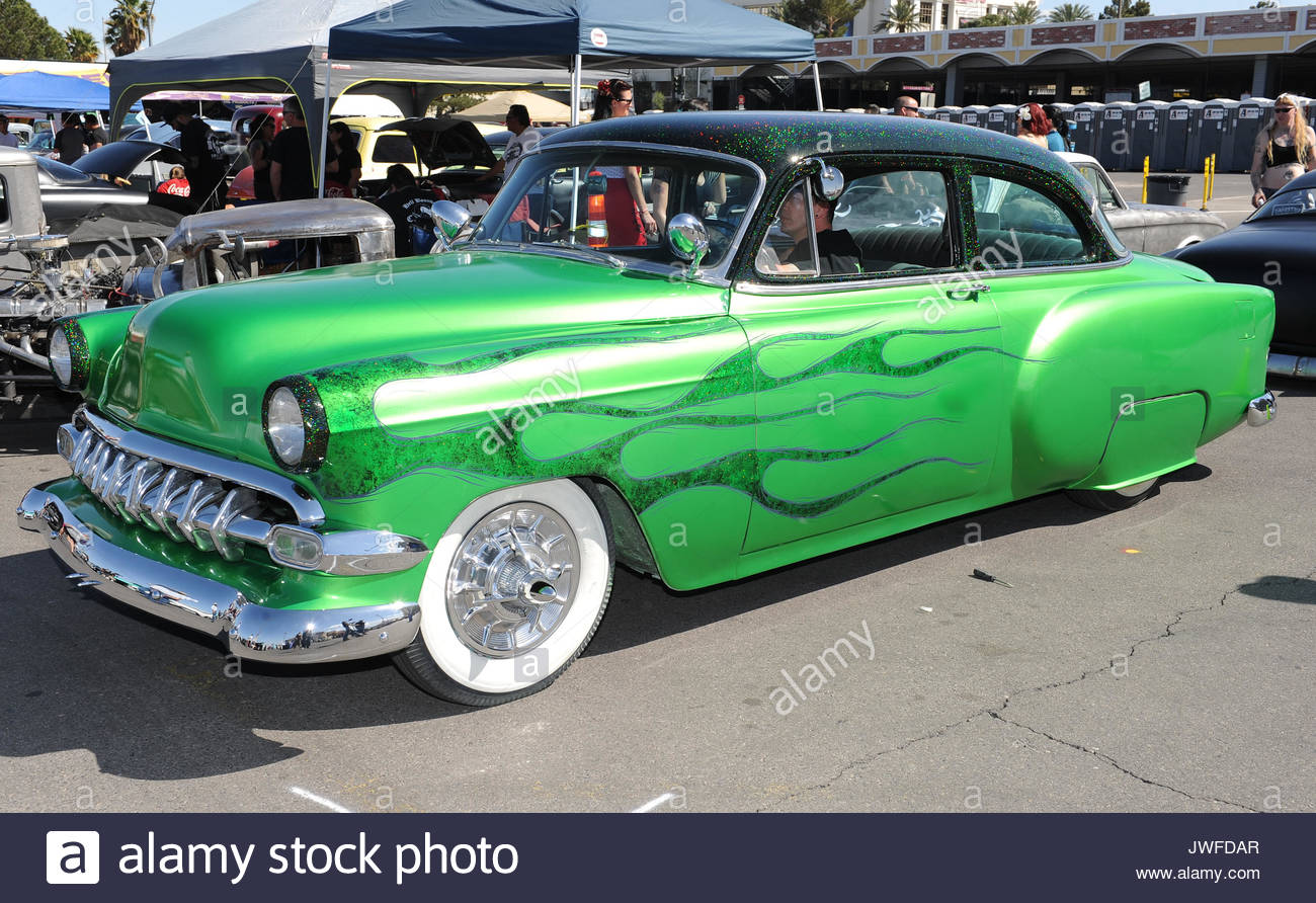 Scenes From Viva Las Vegas Rockabilly Weekend Car Show Day One At