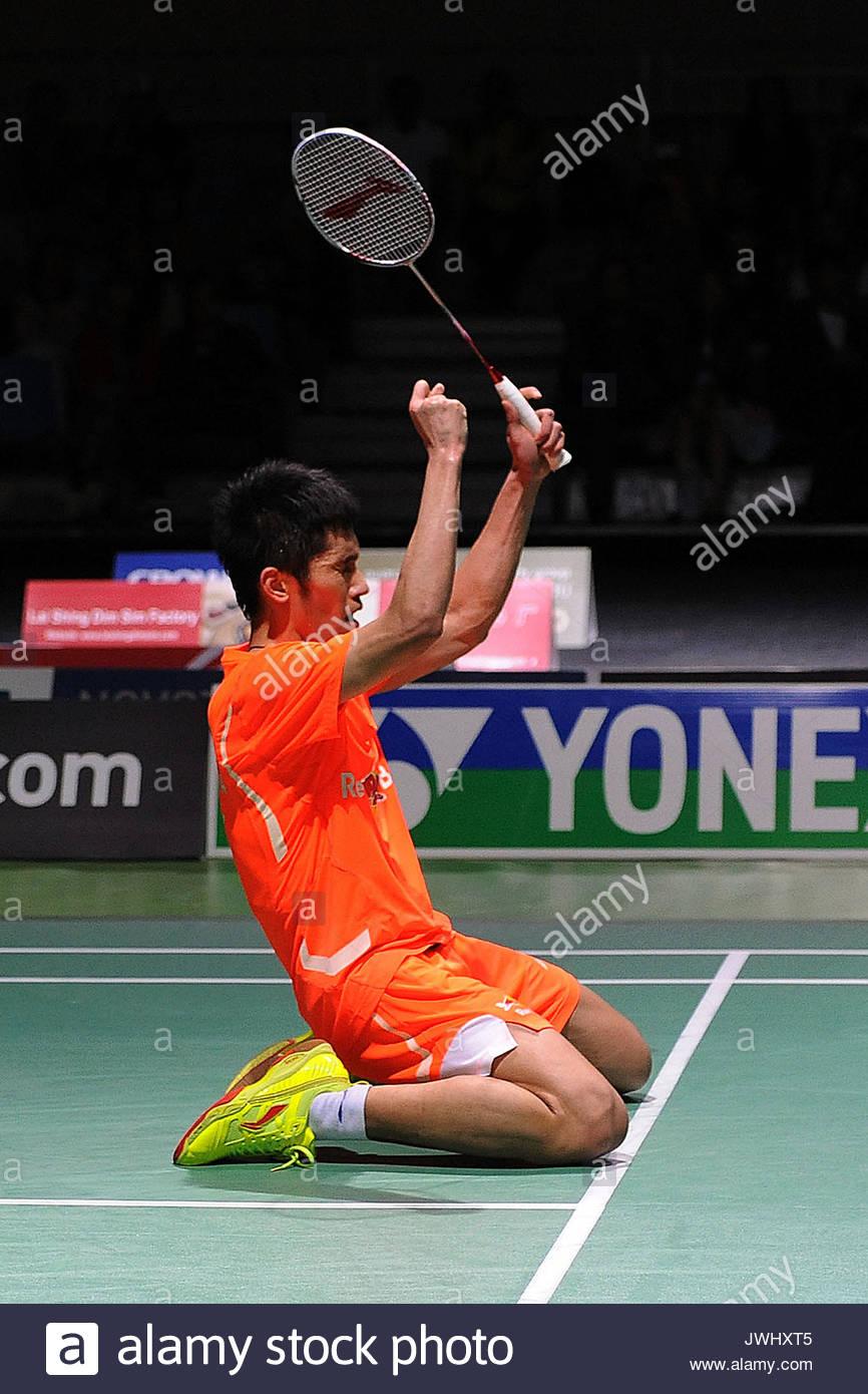 Tian Houwei China s Tian Houwei defeats his fellow countryman Xue