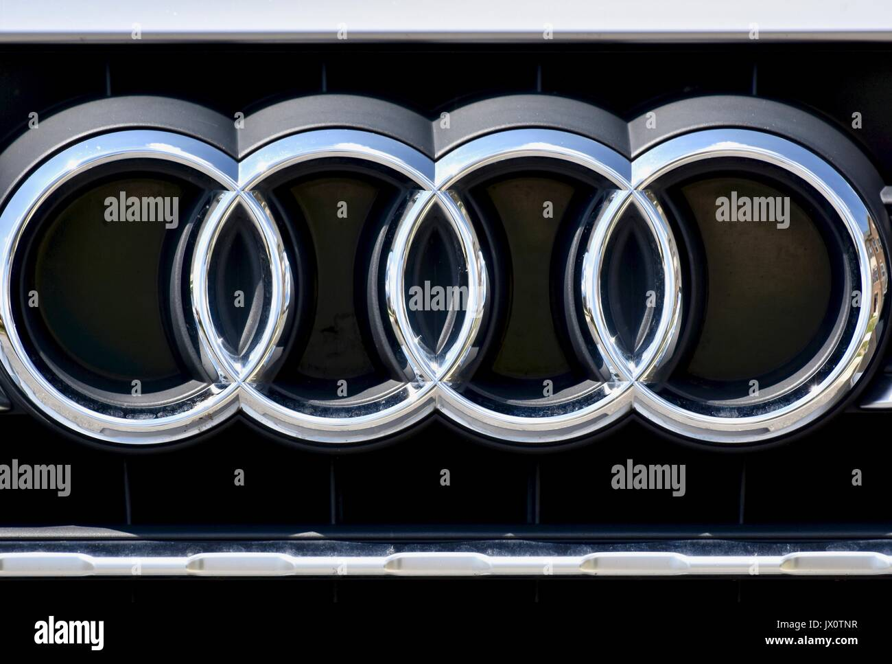 audi logo stock photos amp audi logo stock images alamy