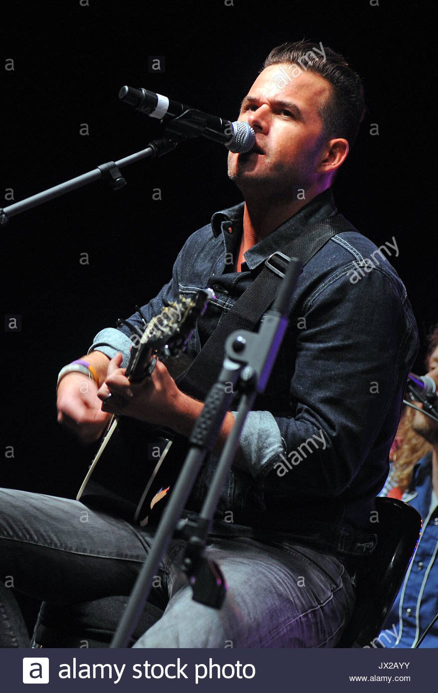 David Nail. The 2nd Annual \'Y108 Eight-Man Jam\' held at Rivers ...