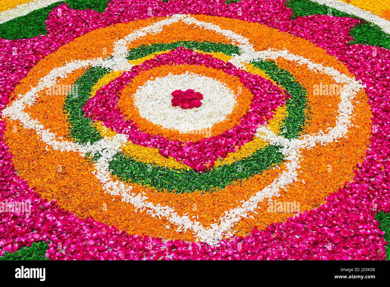 Flowers Rangoli Designs Petals Rangoli Designs for Diwali Festival ... for Flower Rangoli Designs For Diwali  45ifm