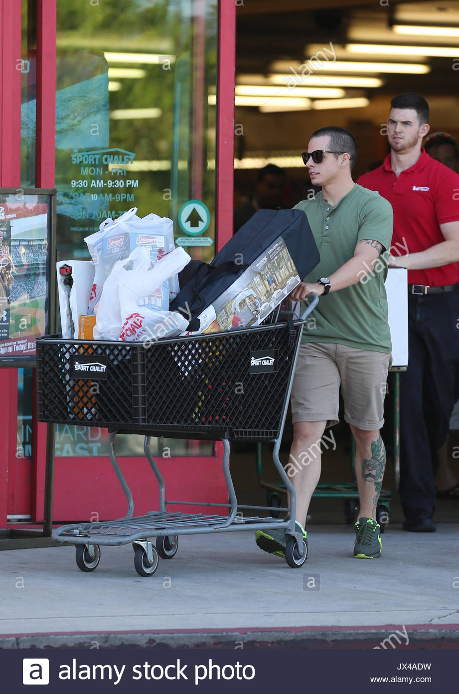 Casper Smart was out and about today shopping for c&ing supplies and work out gear at Sport Chalet. He purchased a tent as well as a UFC punching bag ...  sc 1 st  Alamy & Casper Smart. Casper Smart was out and about today shopping for ...