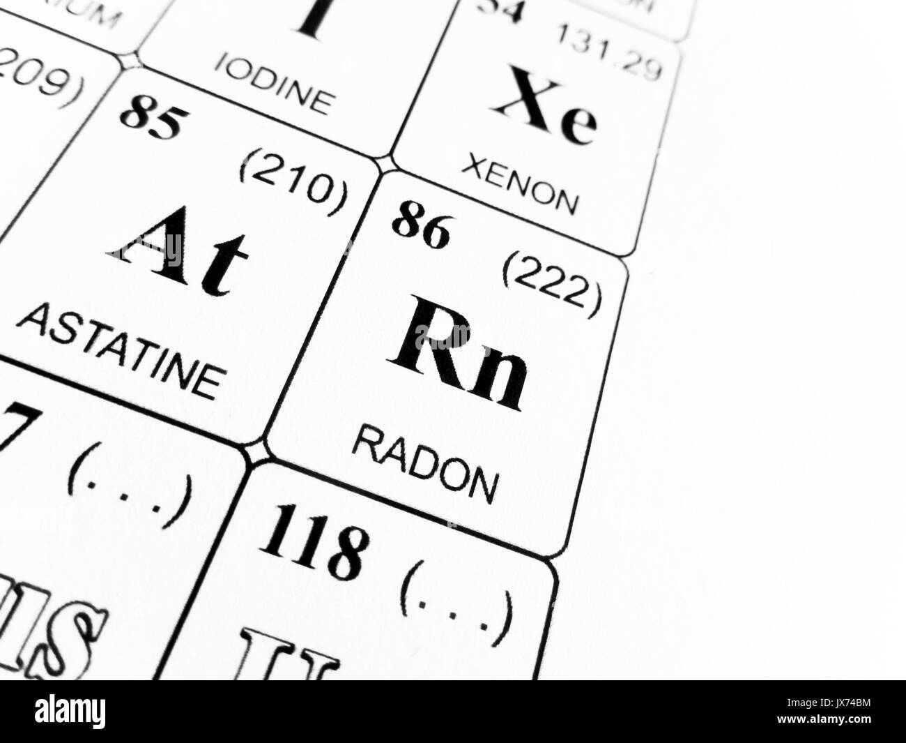 Xenon periodic table facts gallery periodic table images radon on periodic table choice image periodic table images radon on the periodic table of the gamestrikefo Image collections