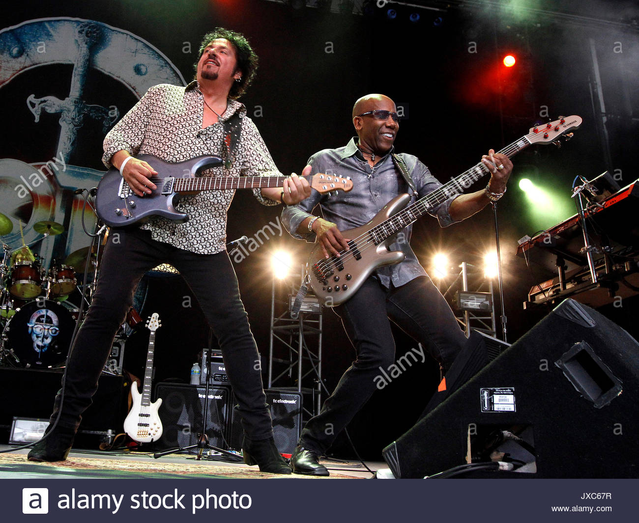 Steve Lukather and Nathan East. ADM TOTOGA DH 051 - August 14, 2013 ...