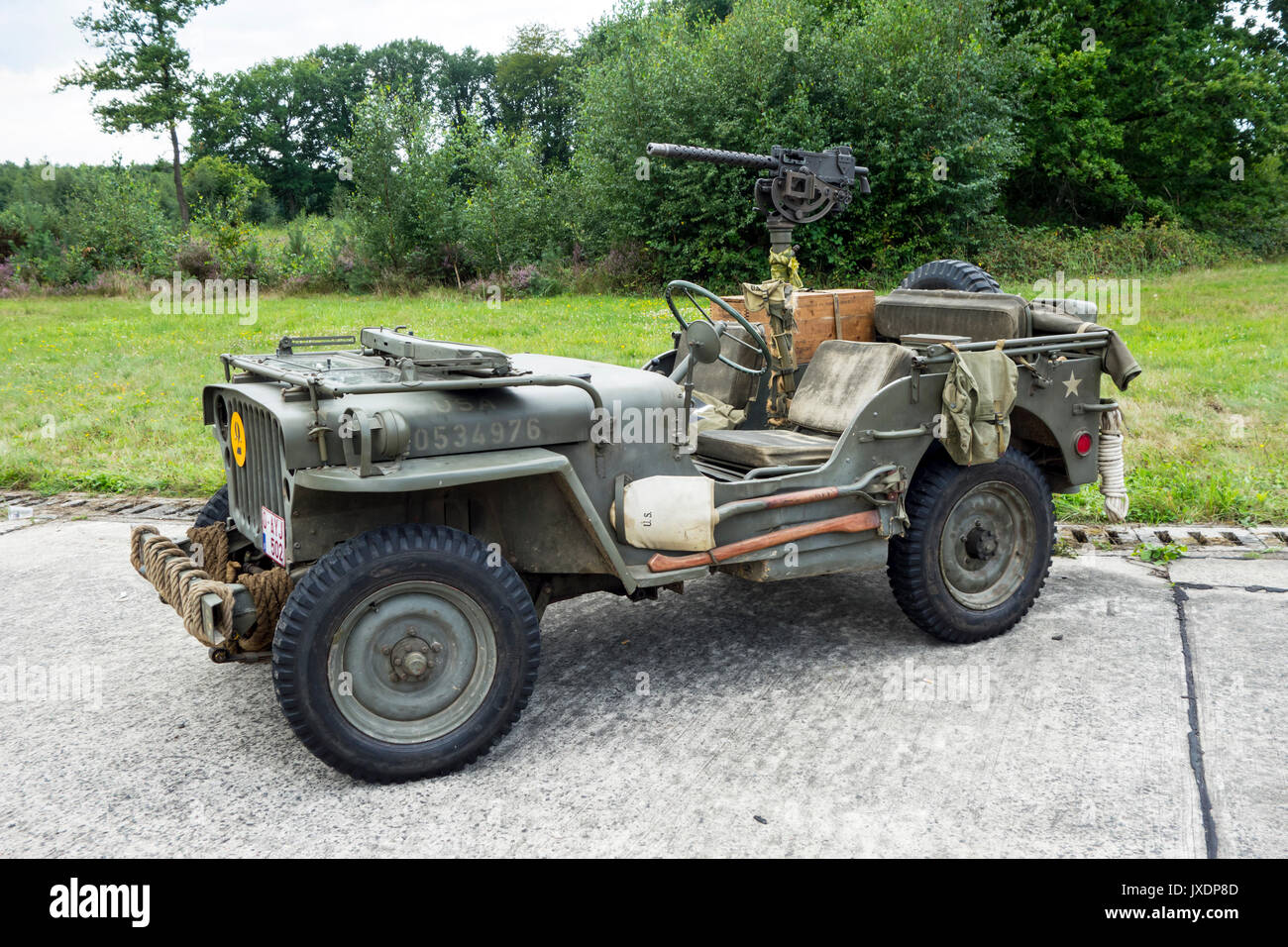 Jeep mb jeep : World War Two US Army Willys MB jeep, four-wheel drive utility ...