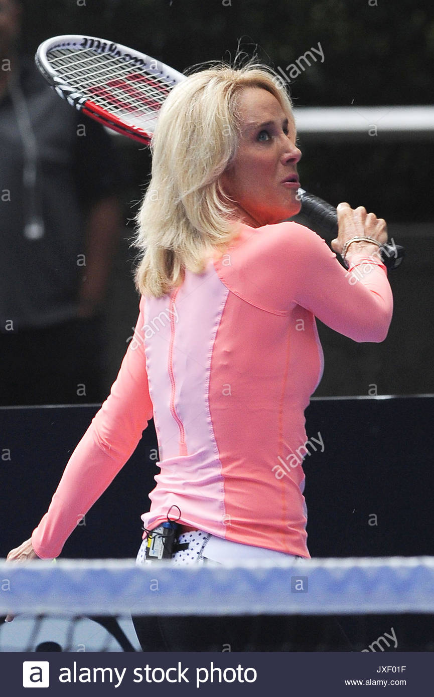 Tracy Austin Tracy Austin visits Fox & Friends outside the Fox
